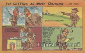 mil001065 - Military Comic Postcard Postcards