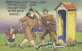 mil001072 - Military Comic Postcard Postcards