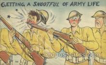 mil001074 - Military Comic Postcard Postcards