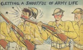 mil001074 - Military Comic Postcard Postcards
