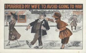 mil001075 - Military Comic Postcard Postcards