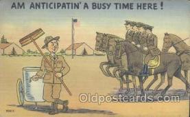mil001076 - Military Comic Postcard Postcards
