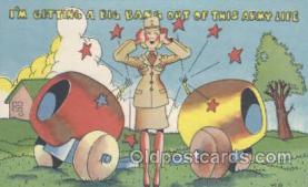 mil001086 - Military Comic Postcard Postcards