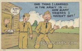 mil001087 - Military Comic Postcard Postcards