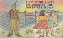 mil001092 - Military Comic Postcard Postcards