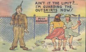 mil001092 - Military Comic Postcard Postcards