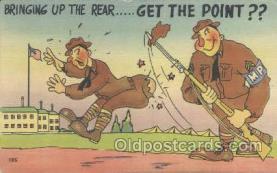 mil001095 - Military Comic Postcard Postcards
