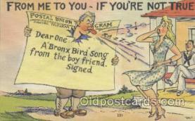 mil001096 - Military Comic Postcard Postcards