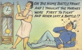 mil001099 - Military Comic Postcard Postcards