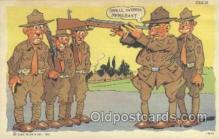 mil001105 - Military Comic Postcard Postcards
