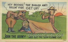 mil001110 - Military Comic Postcard Postcards
