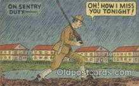 mil001116 - Military Comic Postcard Postcards