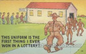 mil001119 - Military Comic Postcard Postcards