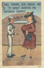 mil001122 - Military Comic Postcard Postcards