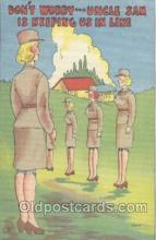 mil001130 - Military Comic Postcard Postcards