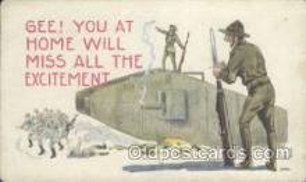 mil001140 - Military Comic Postcard Postcards