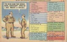 mil001156 - Military Comic Postcard Postcards