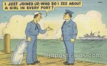 mil001182 - Military Comic Postcard Postcards