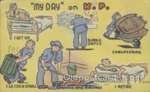 mil001184 - Military Comic Postcard Postcards