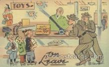 mil001193 - Military Comic Postcard Postcards