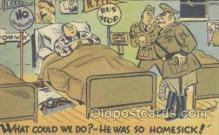 mil001194 - Military Comic Postcard Postcards
