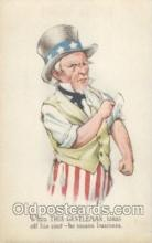 mil001231 - Uncle Sam Uncle Sam, Military Postcard Postcards
