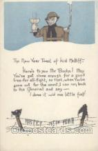 mil001250 - Happy New YearHappy New Year, Military Postcard Postcards