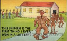 mil001322 - Military Comic Postcard Postcards
