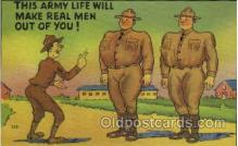 mil001331 - Military Comic Postcard Postcards