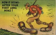 mil001332 - Military Comic Postcard Postcards
