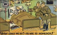mil001335 - Military Comic Postcard Postcards