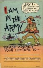mil001347 - Military Comic Postcard Postcards