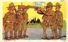 mil001416 - Military Comic Postcard Post Cards