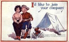 mil001434 - Military Comic Postcard Post Cards