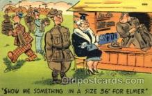 mil001435 - Military Comic Postcard Post Cards