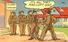 mil001439 - Military Comic Postcard Post Cards