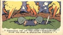 mil001830 - Military Comic Postcard Postcards