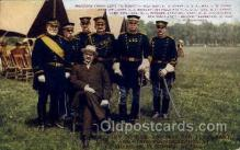 mil002007 - Secretary of War and Maj. Gen F.D. Grant at Ft. Sheridan, Summer of 1909, Military Postcard Postcards