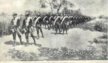 mil002009 - Artist Frederic Remington, Military Postcard Postcards