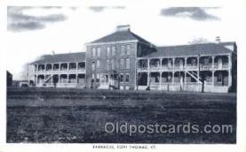 mil002062 - Barracks, Fort Thomas, Ky, Usa Military Postcard Postcards