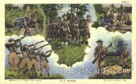 mil002063 - U.S. Infantry Military Postcard Postcards