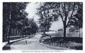 mil002092 - Fort Thomas, Ky, Usa Military Postcard Postcards