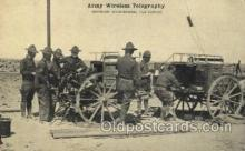 mil002095 - Army Wireless Telegraphy Military Postcard Postcards