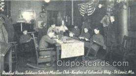 mil002098 - St. Louis, Mo, Usa Military Postcard Postcards