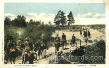 mil002127 - Cavalry on Scout Duty  Postcard Post Cards Old Vintage Antique