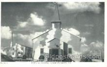 mil002133 - Typical Chapel Camp Pickett, VA, USA Postcard Post Cards Old Vintage Antique
