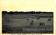 mil002145 - Brigade Parade Ground Camp Hancock, Augusta, GA, USA Postcard Post Cards Old Vintage Antique
