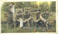 mil002159 - WW I Military Postcard Post Card Old Vintage Antique