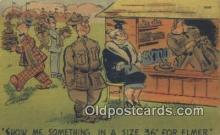 mil002182 - Military Postcard Post Card Old Vintage Antique