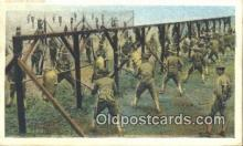 mil002187 - Bayonet Exercise Military Postcard Post Card Old Vintage Antique